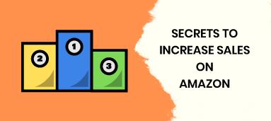 STRATEGIES TO INCREASE SALES ON AMAZON